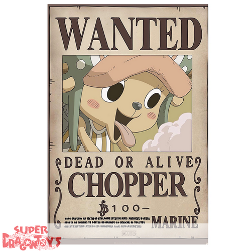 "ONE PIECE - POSTER ""WANTED : CHOPPER"""