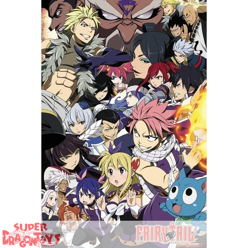 "FAIRY TAIL - POSTER ""GUILDE"""
