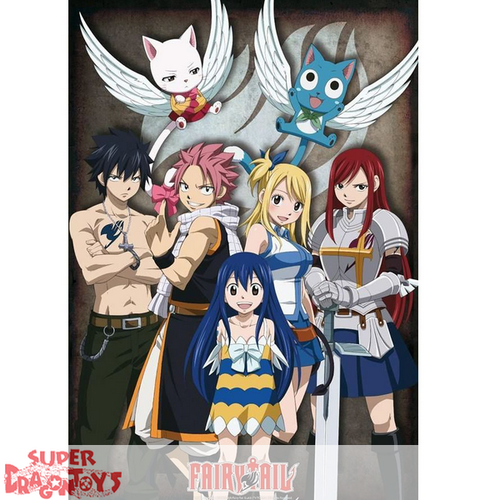 "FAIRY TAIL - POSTER ""GROUPE"""