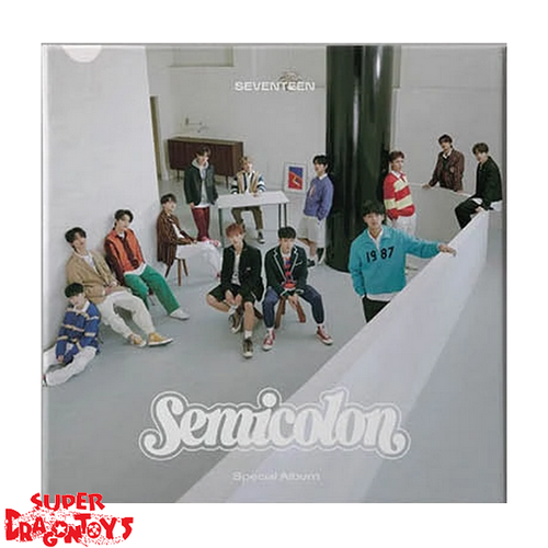 SEVENTEEN (세븐틴) - SEMICOLON - [RANDOM COVER (OUT OF 14 MODELS)] - SPECIAL ALBUM