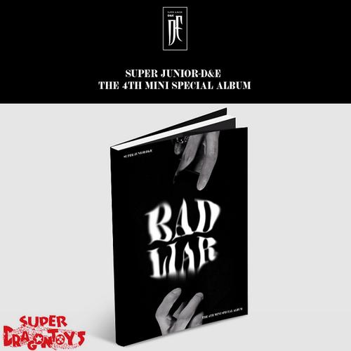 """SUPER JUNIOR (슈퍼주니어) """"D&E"""" - BAD LIAR - 4TH MINI [SPECIAL] ALBUM"""