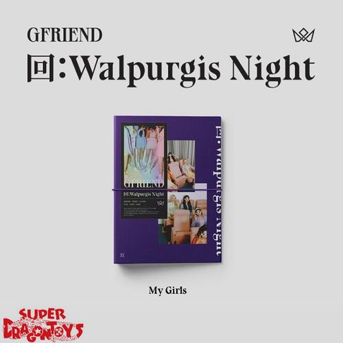 GFRIEND (여자친구) - WALPURGIS NIGHT - [MY GIRLS/VIOLET] VERSION - 3RD ALBUM