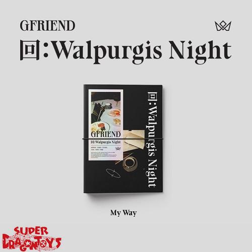 GFRIEND (여자친구) - WALPURGIS NIGHT - [MY WAY/BLACK] VERSION - 3RD ALBUM