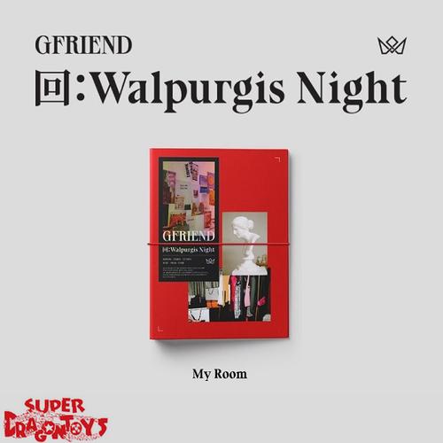 GFRIEND (여자친구) - WALPURGIS NIGHT - [MY ROOM/RED] VERSION - 3RD ALBUM