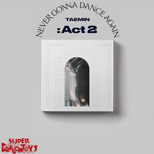 TAEMIN (태민) - NEVER GONNA DANCE AGAIN : ACT 2 - [A/ MESSIAH] - 3RD ALBUM