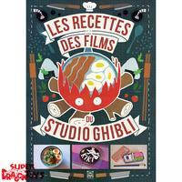 LES RECETTES DES FILMS DU STUDIO GHIBLI - LIVRE DE CUISINE