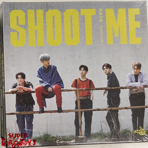 DAY6 - SHOOT ME : YOUTH PART.1 - [TRIGGER] VERSION - 3RD MINI ALBUM