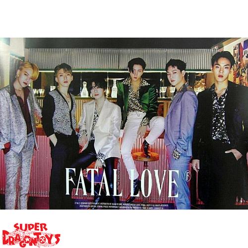 "MONSTA X - ""FATAL LOVE"" OFFICIAL POSTER - VERSION [C]"