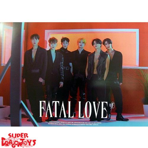 """MONSTA X - """"FATAL LOVE"""" OFFICIAL POSTER - VERSION [A]"""