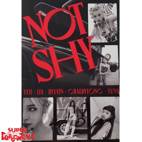 ITZY (있지) - NOT SHY - VERSION [C/RED] - ALBUM