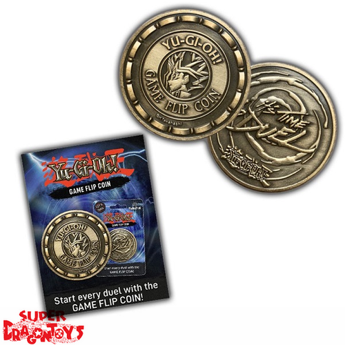 "YUGIOH - GAME FLIP COIN  ""IT'S TIME TO DUEL"" - LIMITED EDITION"