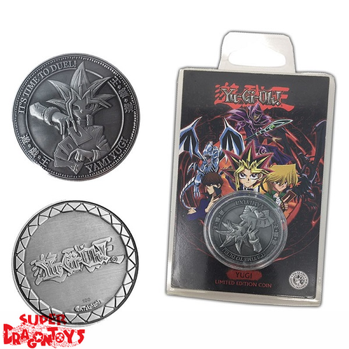 "YUGIOH - COLLECTOR COIN ""YUGI MUTO"" - LIMITED EDITION"