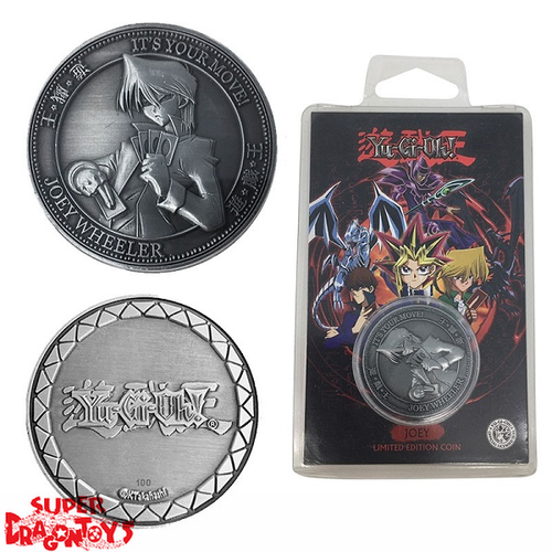 "YUGIOH - COLLECTOR COIN ""JOEY WHEELER"" - LIMITED EDITION"