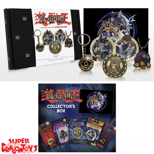 YUGIOH - COLLECTOR BOX [EXCLUSIVE ART PRINT + GOODIES] - LIMITED EDITION