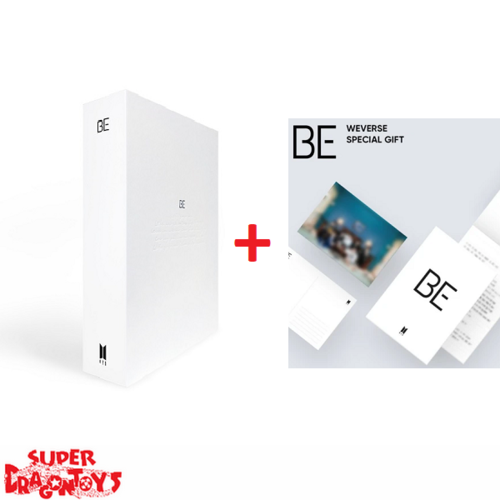 "BTS (방탄소년단) - BE - [LIMITED DELUXE EDITION] KOREAN ALBUM + ""WEVERSE"" GIFT"