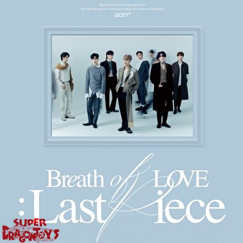 GOT7 (갓세븐) - BREATH OF LOVE : LAST PIECE - [RANDOM COVER VERSION / OUT OF 7 MODELS] - 4TH ALBUM
