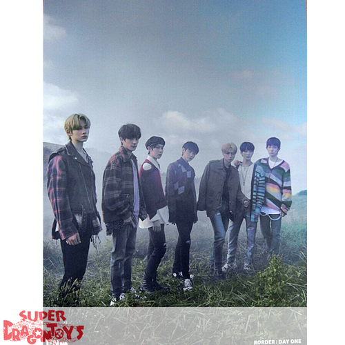 """ENHYPEN - """"BORDER : DAY ONE"""" OFFICIAL POSTER - VERSION [DAWN]"""