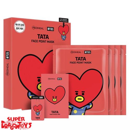 "BTS - [MEDIHEAL & BT21] FACE POINT MASK SET ""TATA"""