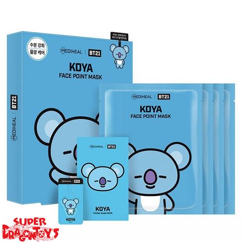 "BTS - [MEDIHEAL & BT21] FACE POINT MASK SET ""KOYA"""