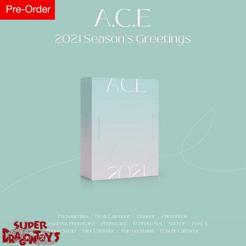 A.C.E (에이스) - 2021 SEASON'S GREETINGS - [DESK CALENDAR + GOODIES] PACKAGE