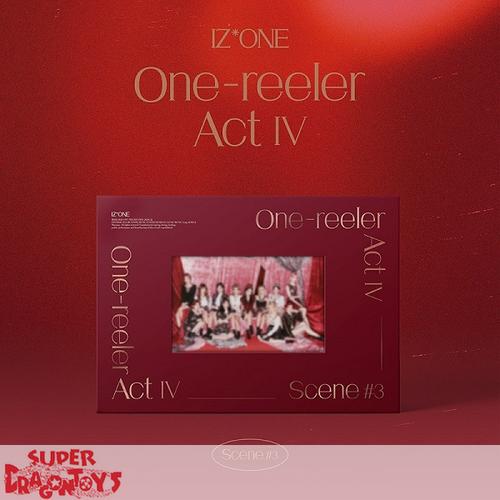 IZ*ONE (아이즈원) - ONE-REELER / ACT IV - [SCENE#3 / RED] VERSION - 4TH MINI ALBUM