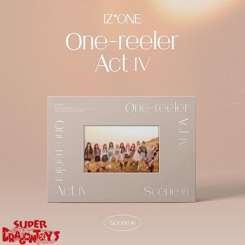 IZ*ONE (아이즈원) - ONE-REELER / ACT IV - [SCENE#1 / SAND] VERSION - 4TH MINI ALBUM
