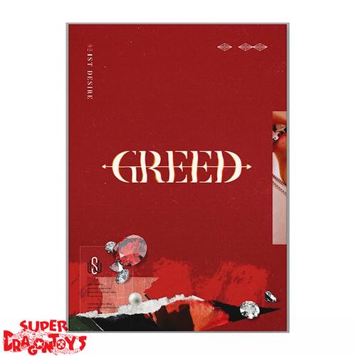 KIM WOO SEOK (X1/UP10TION) - 1ST DESIRE : GREED - [S / RED] VERSION - 1ST MINI ALBUM