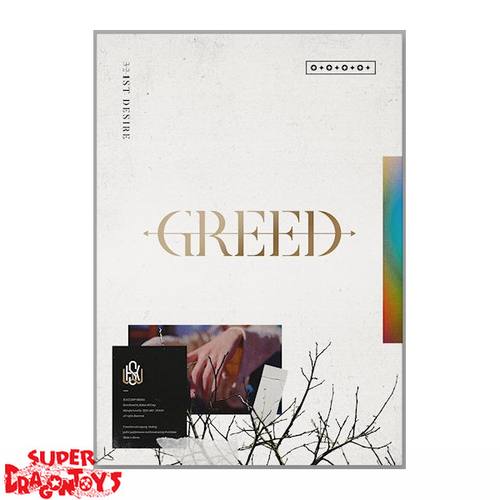 KIM WOO SEOK (X1/UP10TION) - 1ST DESIRE : GREED - [W / WHITE] VERSION - 1ST MINI ALBUM