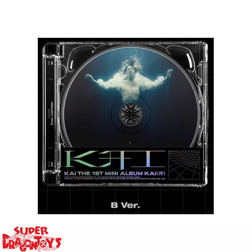 KAI (카이) - KAI - [JEWEL CASE / B] VERSION - 1ST SINGLE ALBUM