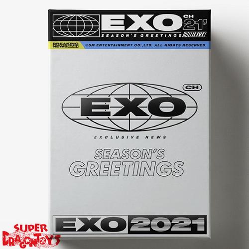 EXO (엑소) - 2021 SEASON'S GREETINGS - [CALENDAR + GOODIES] PACKAGE
