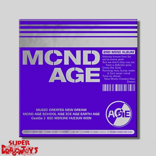 MCND - MCND AGE - [GET] VERSION - 2ND MINI ALBUM