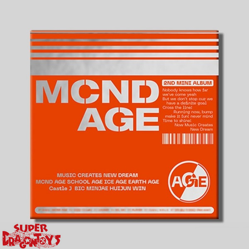 MCND - MCND AGE - [HIT] VERSION - 2ND MINI ALBUM