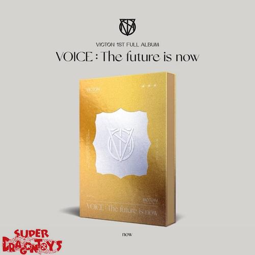 "VICTON (빅톤) - VOICE : THE FUTURE IS NOW - [""NOW"" / GOLD] VERSION - 1ST ALBUM"