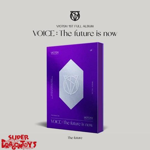 "VICTON (빅톤) - VOICE : THE FUTURE IS NOW - [""THE FUTURE"" / PURPLE] VERSION - 1ST ALBUM"