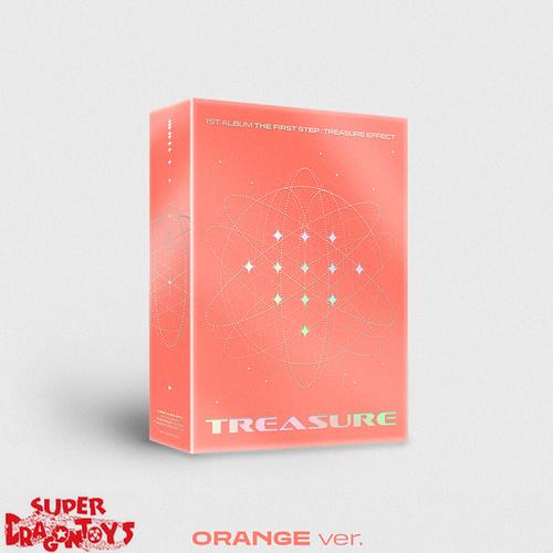 TREASURE - THE FIRST STEP : TREASURE EFFECT - [ORANGE] VERSION - 1ST FULL ALBUM