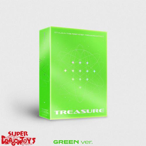 TREASURE - THE FIRST STEP : TREASURE EFFECT - [GREEN] VERSION - 1ST FULL ALBUM
