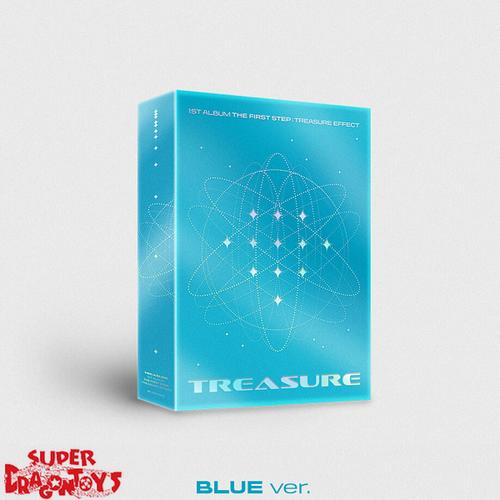 TREASURE - THE FIRST STEP : TREASURE EFFECT - [BLUE] VERSION - 1ST FULL ALBUM
