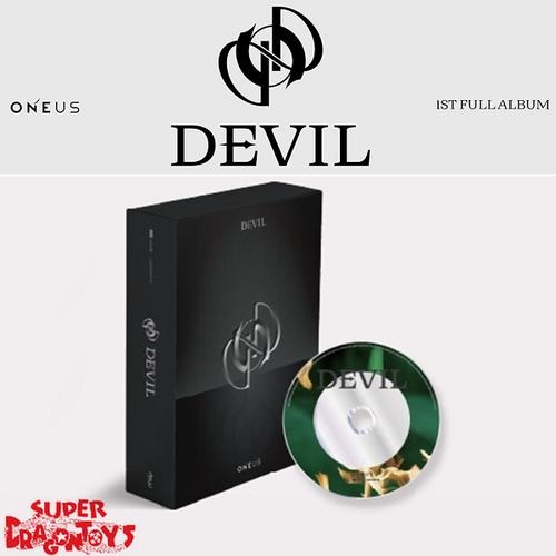 ONEUS (원어스) - DEVIL - [BLACK] VERSION - 1ST FULL ALBUM