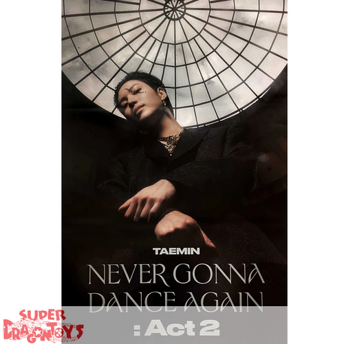 """TAEMIN - """"NEVER GONNA DANCE AGAIN : ACT 2"""" OFFICIAL POSTER - [A/MESSIAH] VERSION"""