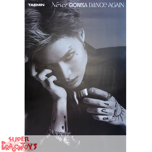 """TAEMIN - """"NEVER GONNA DANCE AGAIN"""" OFFICIAL POSTER - [B] VERSION"""