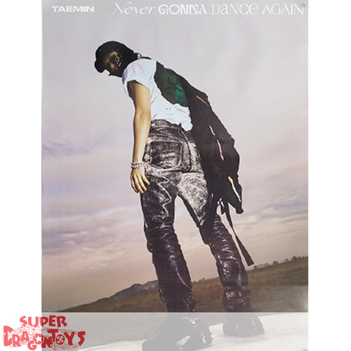 """TAEMIN - """"NEVER GONNA DANCE AGAIN"""" OFFICIAL POSTER - [A] VERSION"""