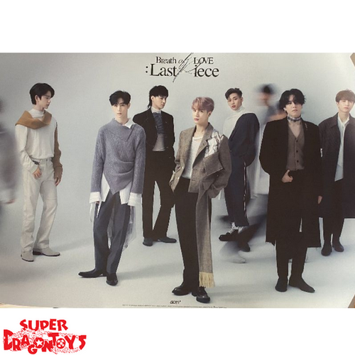 """GOT7 - """"BREATH OF LOVE : LAST PIECE"""" OFFICIAL POSTER - [A] VERSION"""