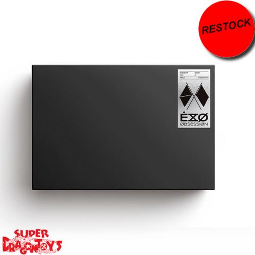 [RESTOCK] EXO (엑소) - OBSESSION - [X-EXO] VERSION - 6TH ALBUM