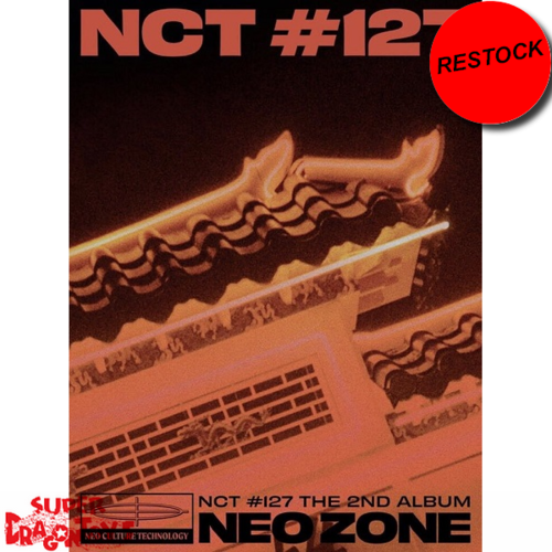 [RESTOCK ]NCT127 - NEO ZONE - [T] VERSION - 2ND ALBUM