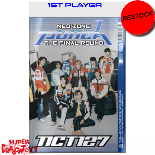 [RESTOCK] NCT127 - NEO ZONE : THE FINAL ROUND - [1ST PLAYER] VERSION - 2ND [REPACKAGE] ALBUM