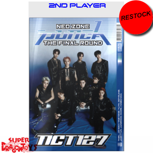[RESTOCK]  NCT127 - NEO ZONE : THE FINAL ROUND - [2ND PLAYER] VERSION - 2ND [REPACKAGE] ALBUM
