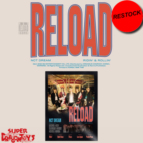 [RESTOCK] NCT DREAM (엔시티 드림) - RELOAD - [RIDIN'] VERSION - 4TH MINI ALBUM