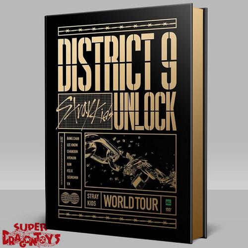"STRAY KIDS (스트레이 키즈) - STRAY KIDS WORLD TOUR ""DISTRICT 9 UNLOCK"" - [2DVD + PHOTOBOOK] BOX"