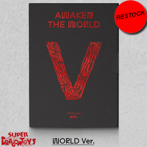 [RESTOCK] WAYV (웨이션브이) - AWAKEN THE WORLD - [WORLD] VERSION - 1ST ALBUM
