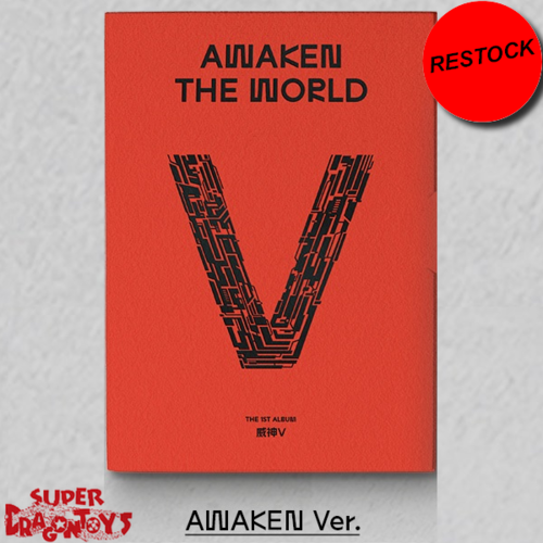 [RESTOCK] WAYV (웨이션브이) - AWAKEN THE WORLD - [AWAKEN] VERSION - 1ST ALBUM